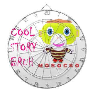 Koel Verhaal bruh-Leuke aap-Morocko Dartbord
