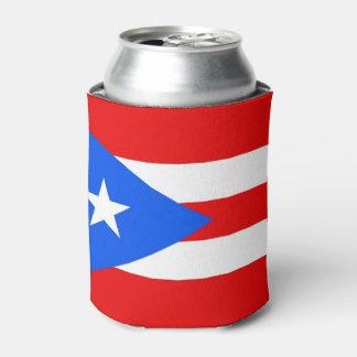 Koelbox met vlag van Puerto Rico, de V.S. Blikjeskoeler