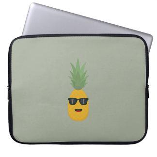 koele ananas computer sleeve hoezen