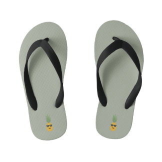 koele ananas kinder teenslippers