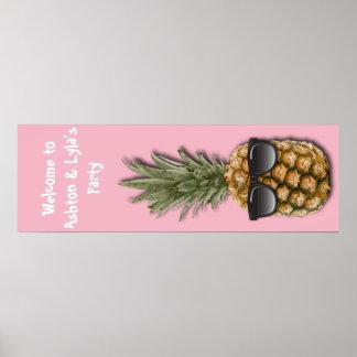 Koele Ananas Poster