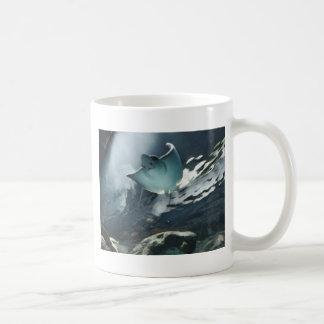 Koele Artistieke Onderkant van Pijlstaartrog Koffiemok