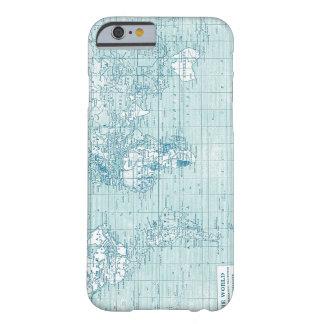 Koele Blauwe Wereld - collectie Barely There iPhone 6 Hoesje