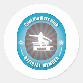 Koele Club Hurdlers Ronde Sticker