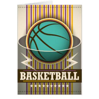 Koele het Balspel van de Sport van het basketbal Kaart