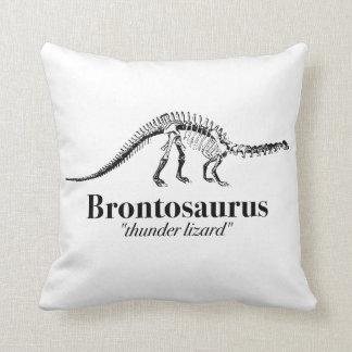 Koele het Skelet van de Dinosaurus van de Hagedis Sierkussen