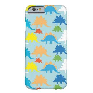 Koele iPhone 6 van Dinosaurussen Lichtblauw hoesje Barely There iPhone 6 Hoesje