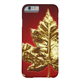 Koele iPhone van Canada 6 Giften van het Blad van  Barely There iPhone 6 Hoesje