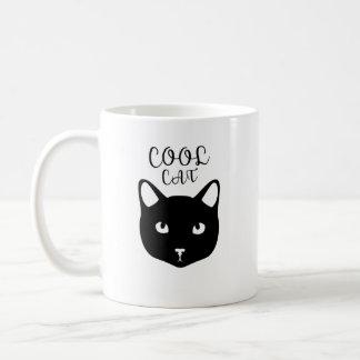 Koele Kat - het Gezicht van de Kat Koffiemok