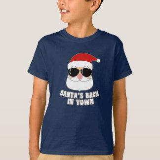 Koele Kerstman terug in Stad T Shirt