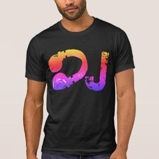 koele & kleurrijke tee_stamp voor DJ T Shirt