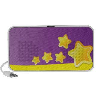 Koele leuke sterrensprekers iPod speaker