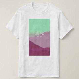 Koele ontspant Omringend van Vaporwave Japanse T Shirt