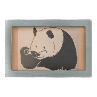Koele Panda met Schaduwen Gesp