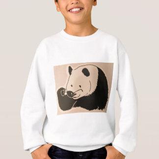 Koele Panda met Schaduwen Trui
