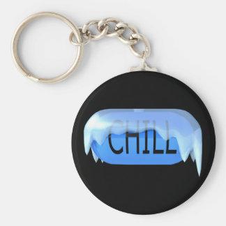 Koele Pil Blauwe Keychain 02 Sleutelhanger