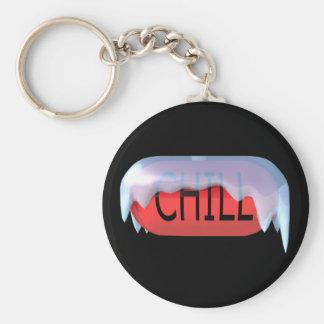 Koele Pil Rode Keychain Basic Ronde Button Sleutelhanger