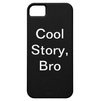 koele verhaalbro barely there iPhone 5 hoesje