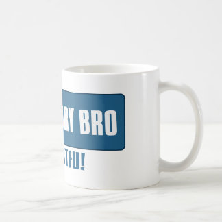 Koele verhaalbro koffiemok