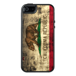 Koele Vintage Vlag Grunge van de Vlag van OtterBox iPhone 5/5s/SE Hoesje