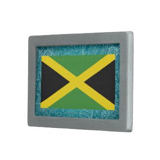 Koele Vlag van Jamaïca Gespen