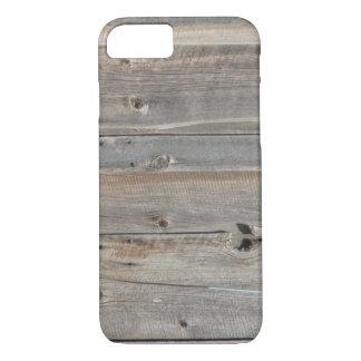 koele westerne rustieke grijze schuur houten iPhone 7 hoesje