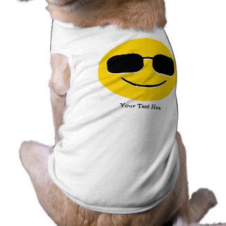Koele Zonnebril (klantgerichte) Emoji T-shirt