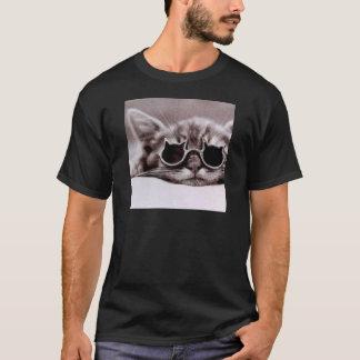 Koelste levende Kat - Zwarte T-shirt voor Man