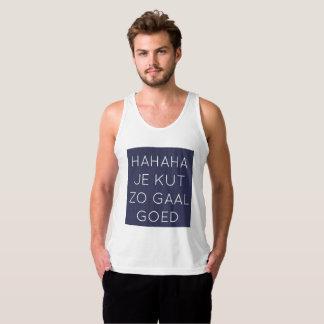 KOENT0299 - GAAL GOED - Donkerblauw T Shirt