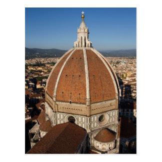 Koepel van het Briefkaart van de Kathedraal van