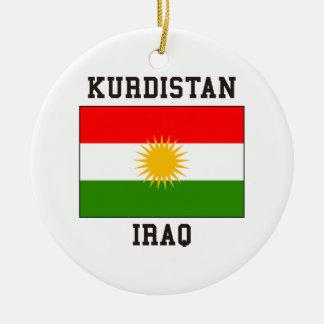 Koerdistan Irak Rond Keramisch Ornament