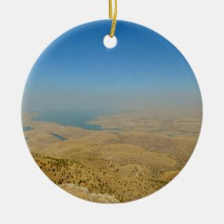 Koerdistan, Meer Dukan Rond Keramisch Ornament