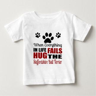Koester de Staffordshire Bull terrier Hond Baby T Shirts