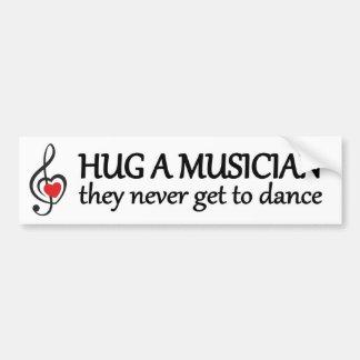 koester een musicus zij nooit grappige worden te bumpersticker