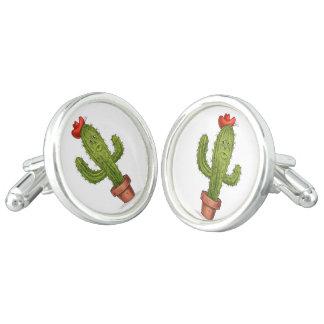 Koester me Cufflinks van de Cactus Manchetknopen