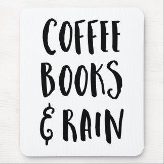 Koffie, Boeken & het Citaat van de Regen Muismat