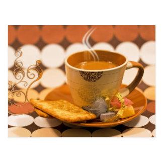 koffie briefkaart