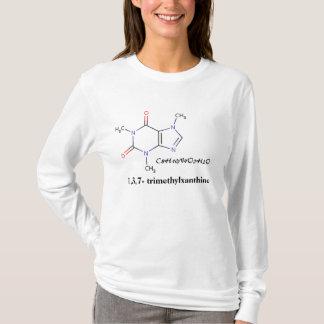 Koffie, C8H10N4O2H2O, 1.3.7 - trimethylxanthine T Shirt