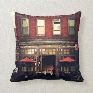 Koffie - de Stad van New York Sierkussen