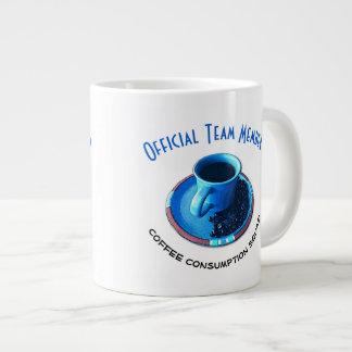 Koffie die de Typografie van het Team drink | Kop