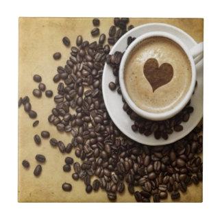 Koffie en Liefde Tegeltje