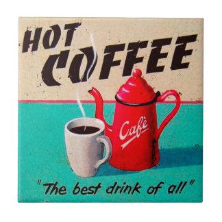 Koffie Keramisch Tegeltje