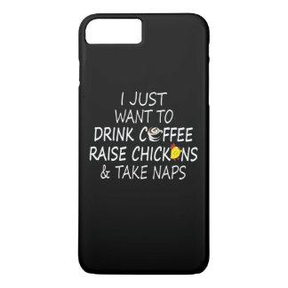Koffie, Kippen en Dutjes iPhone 8/7 Plus Hoesje