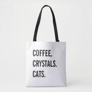 Koffie, Kristallen, Katten Draagtas