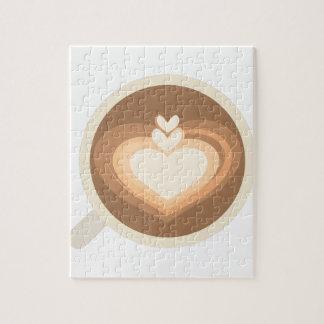 Koffie Latte Puzzel