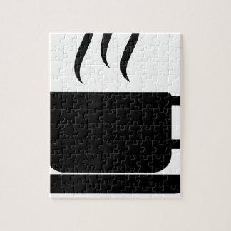 koffie legpuzzel