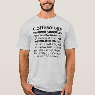 koffie ology t shirt