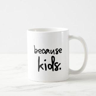 Koffie omdat Kind Koffiemok
