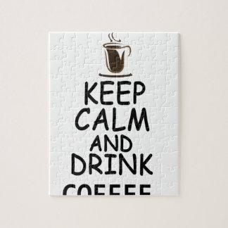 koffie ontwerp foto puzzels