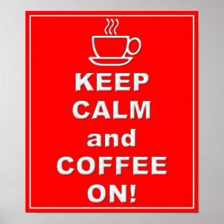 Koffie op Poster